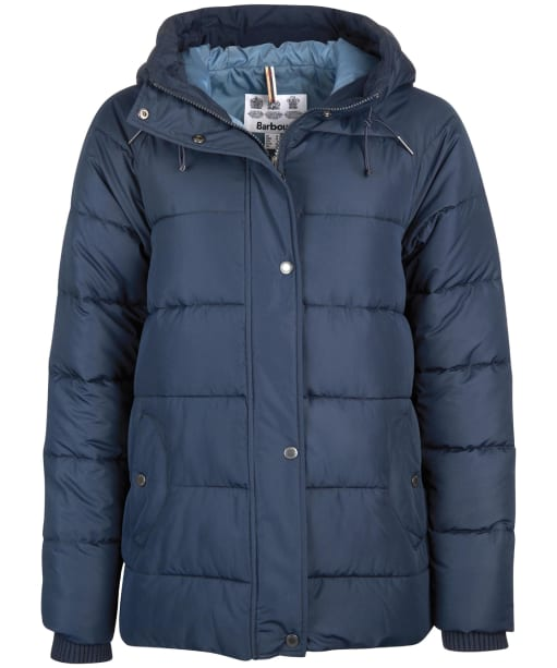 Women's Barbour Tidepool Quilted Jacket - Navy