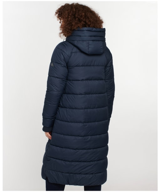 Women's Barbour Crimdon Quilted Jacket - Navy