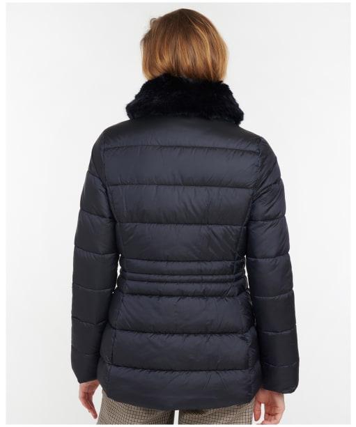 Women's Barbour Fortmartine Quilted Jacket - Dark Navy