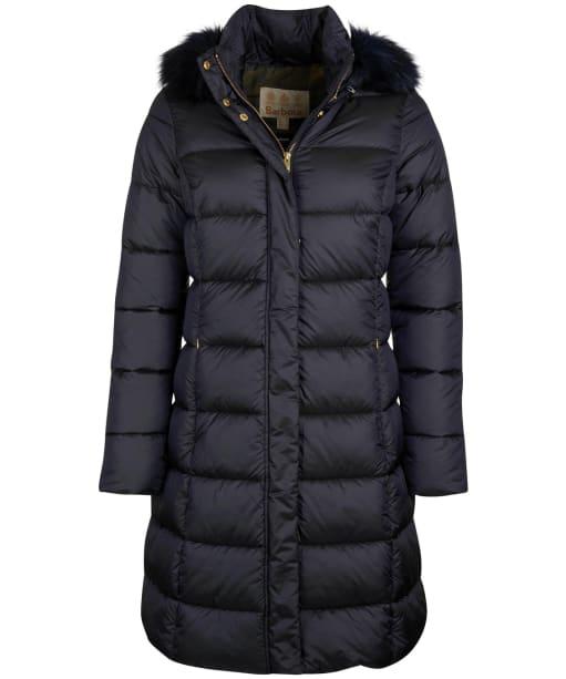 Women's Barbour Crinan Quilted Jacket - Dark Navy