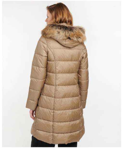 Women's Barbour Crinan Quilted Jacket - Light Trench