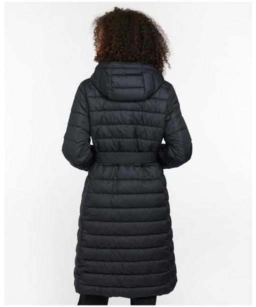 Women's Barbour Cowal Quilted Jacket - Dark Navy