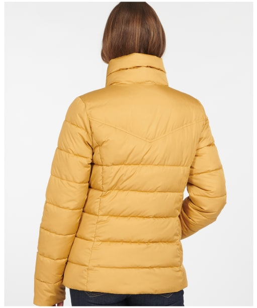 Women's Barbour Stanton Quilted Jacket - Honey Mustard