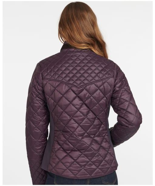 Women's Barbour Grassmere Quilted Jacket - Elderberry
