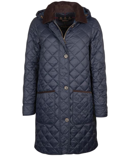 Women's Barbour Lovell Quilted Jacket - Navy