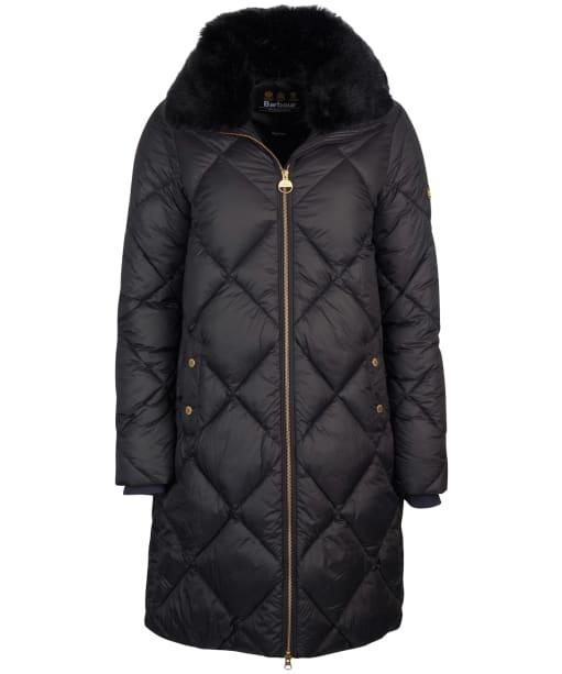 Women's Barbour International Assen Quilted Jacket - Black