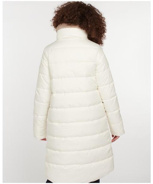 Women's Barbour Silt Quilted Jacket - Cloud