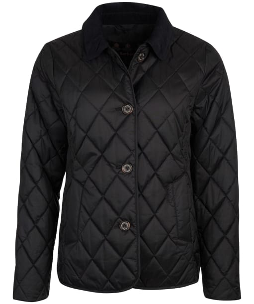 Women's Barbour Omberlsey Quilted Jacket - Black