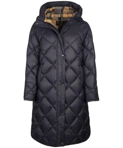 Women's Barbour Sandyford Quilted Jacket - Dark Navy