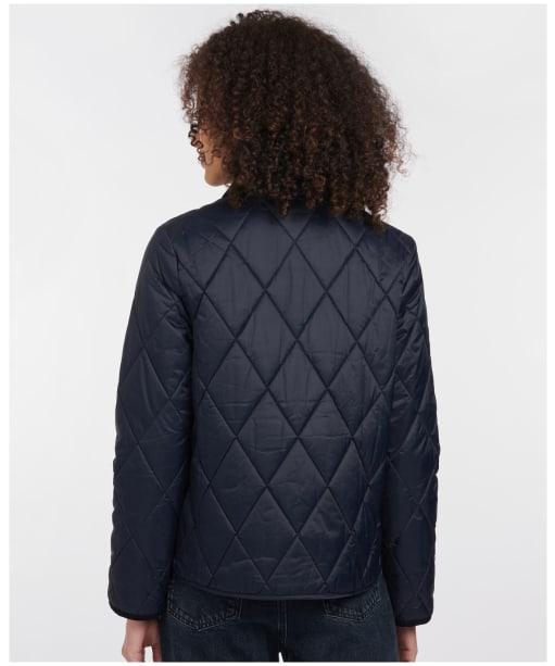 Women's Barbour Linhope Quilted Jacket - Dark Navy