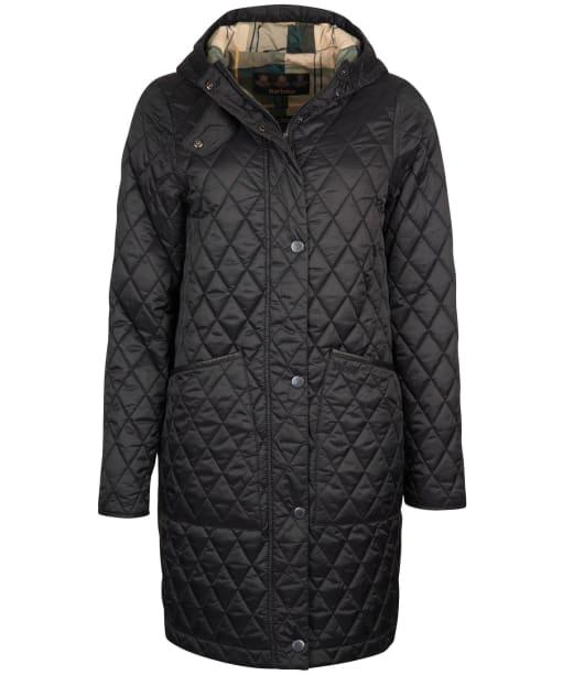 Women's Barbour Dornoch Quilted Jacket - Black