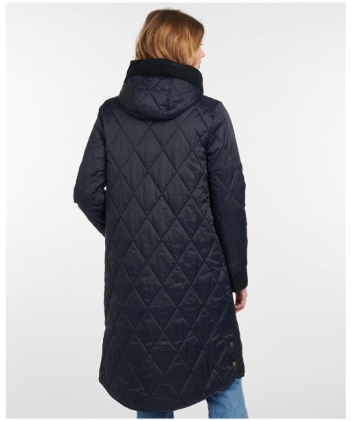 Women's Barbour Mickley Quilted Jacket - Dark Navy