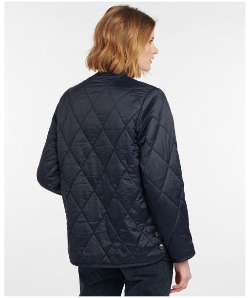 Women's Barbour Roslin Quilted Jacket - Dark Navy