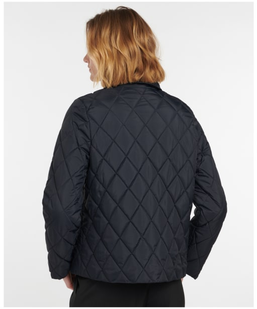 Women's Barbour Colliford Quilted Jacket - Dark Navy