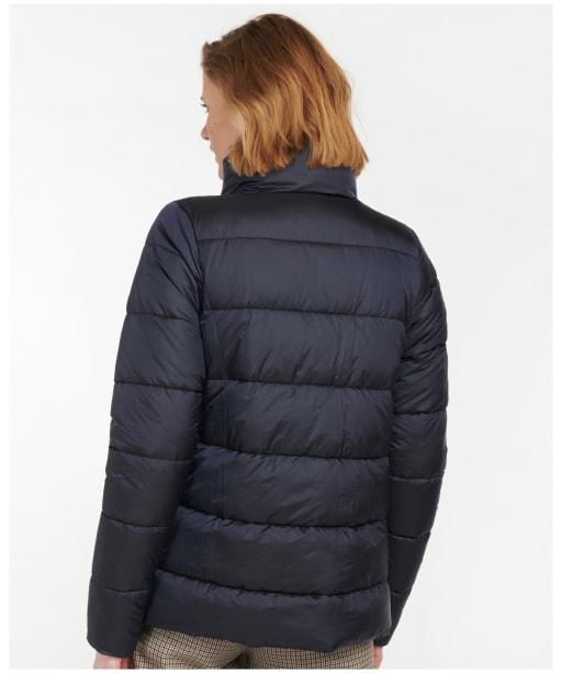 Women's Barbour Bristro Quilted Jacket - Dark Navy