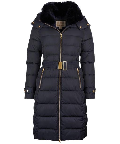 Women's Barbour Rosefield Quilted Jacket - Dark Navy