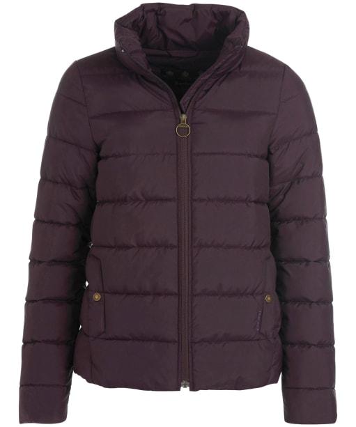 Women's Barbour Hinton Quilted Jacket - Elderberry