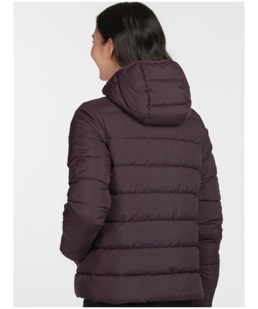 Women's Barbour Oaktree Quilted Jacket - Elderberry