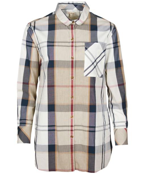 Women's Barbour Perthshire Shirt - Hessian Tartan