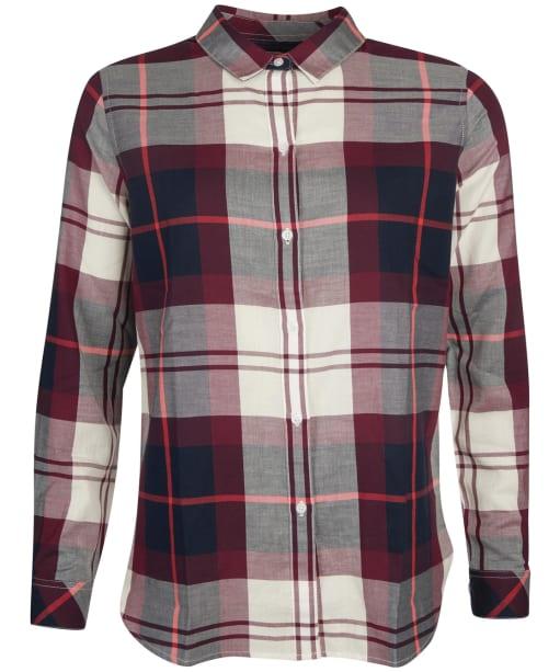 Women's Barbour Moorland Shirt - Cloud Check