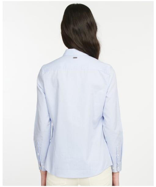 Women's Barbour Derwent Shirt - PALE BLUE/HESSI