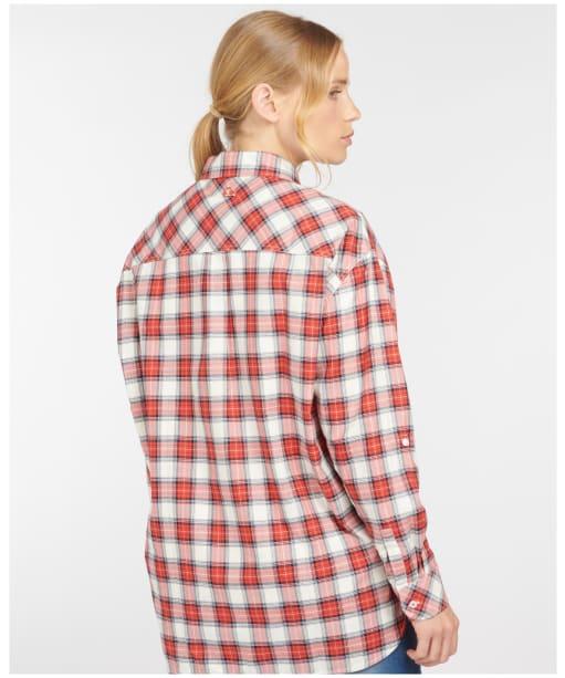 Women's Barbour Hauxley Shirt - Cloud Check