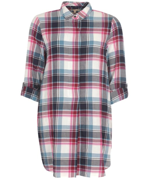 Women's Barbour Lynemouth Shirt - Navy Check