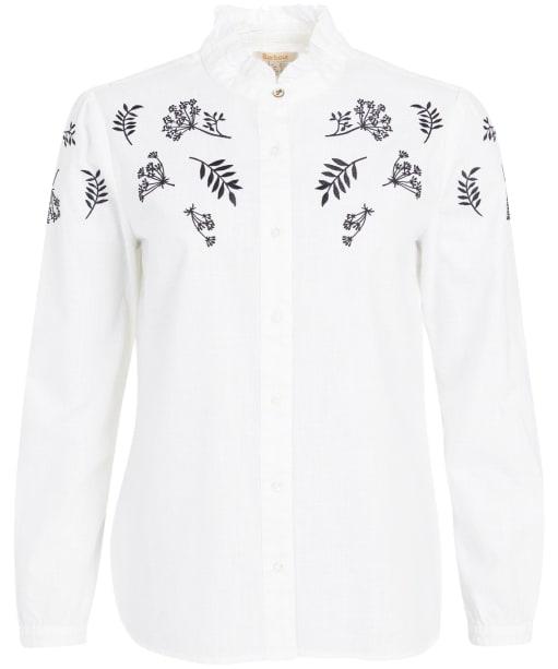 Women's Barbour Whernside Shirt - White