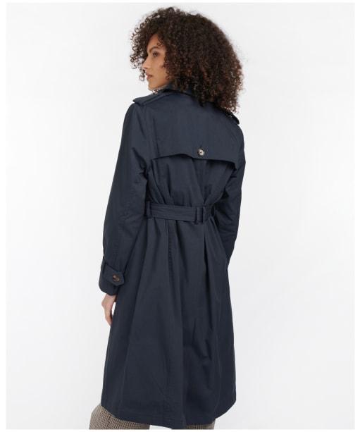 Women's Barbour Flodden Showerproof Jacket - Navy