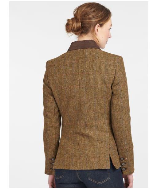 Women's Barbour Robinson Tailored Wool Jacket - Honey Mustard