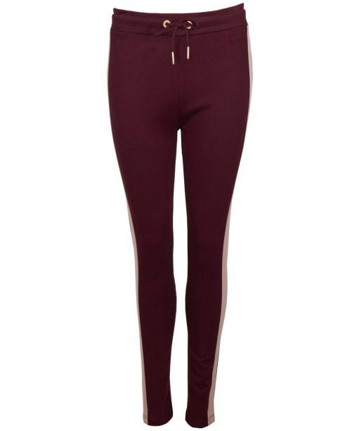 Women's Barbour International Montegi Trousers - Merlot