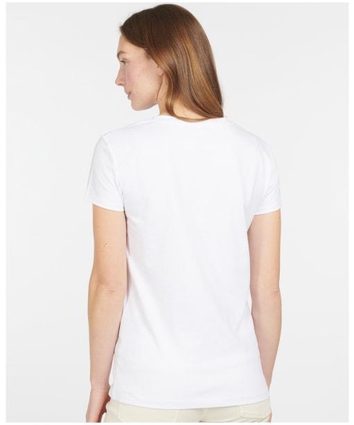 Women's Barbour Seaton Tee - White