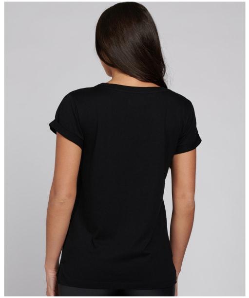 Women's Barbour International Montegi Tee - Black