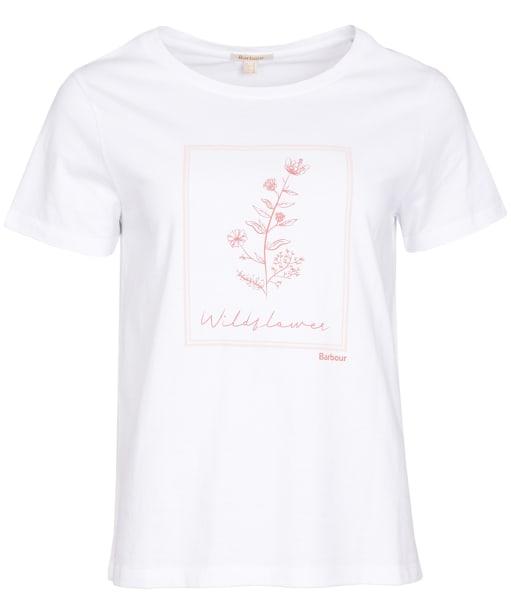 Women's Barbour Grasmoor Tee - White