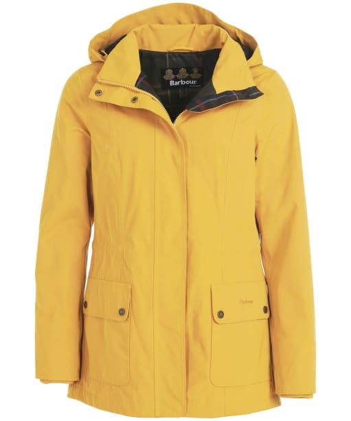 Women's Barbour Lockwood Waterproof Jacket - HONEY MUSTARD
