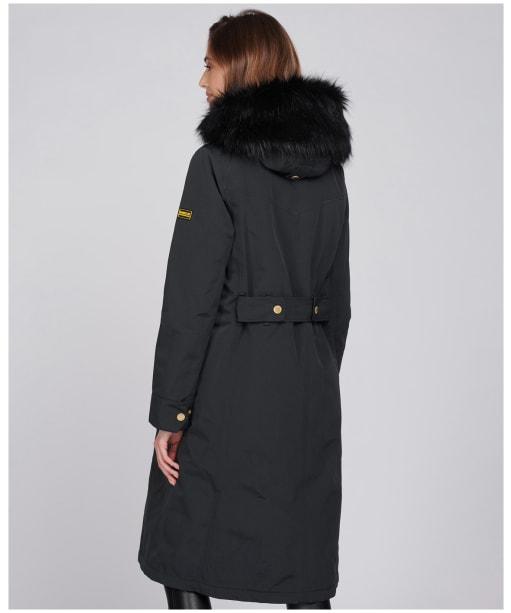 Women's Barbour International Aragon Waterproof Jacket - Black