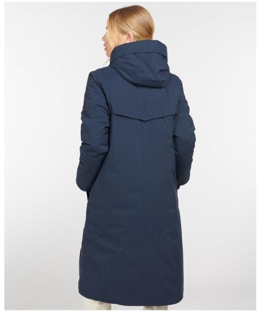 Women's Barbour Lowgos Waterproof Jacket - Navy