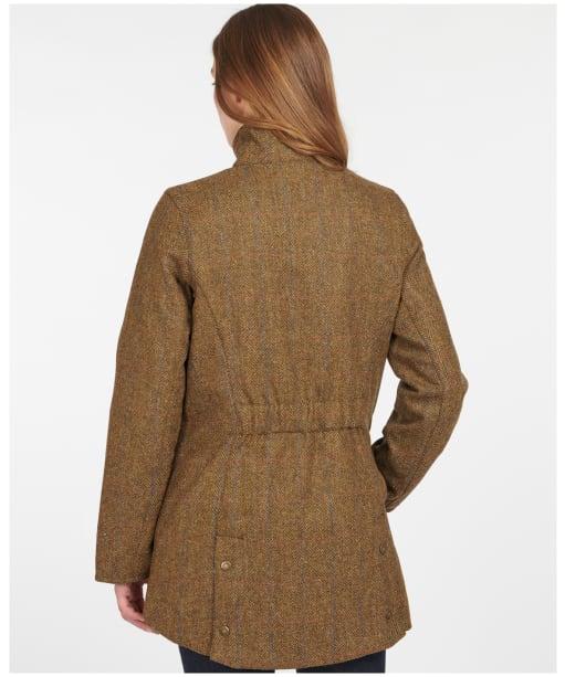 Women's Barbour Fairfield Wool Jacket - Honey Mustard