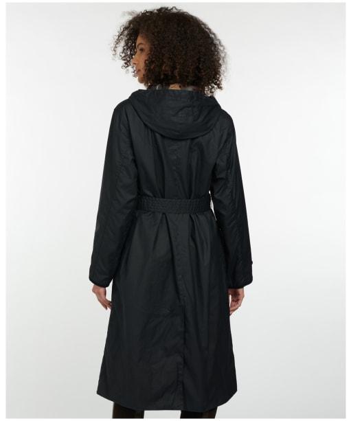 Women's Barbour Alice Wax Jacket - Navy
