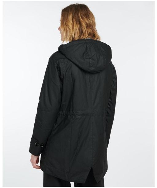 Women's Barbour Cannich Wax Jacket - Black
