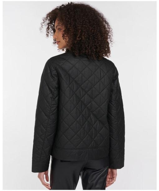 Women's Barbour Helmsadale Waxed Jacket - Sage