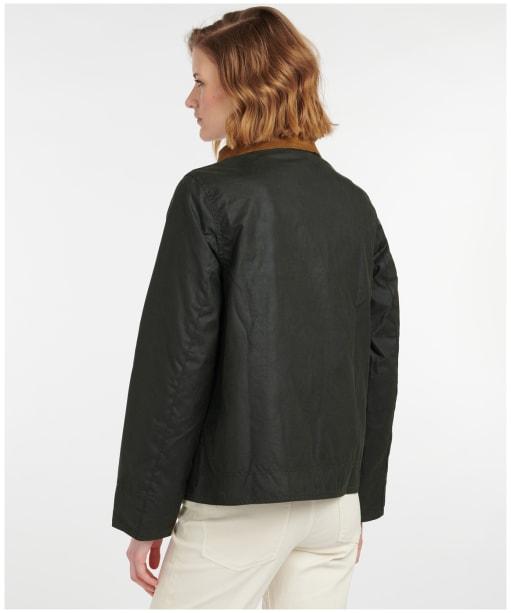 Women's Barbour Thirlmere Wax Jacket - Sage