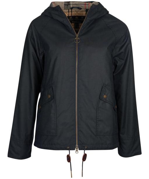 Women's Barbour Windemere Waxed Jacket - Navy