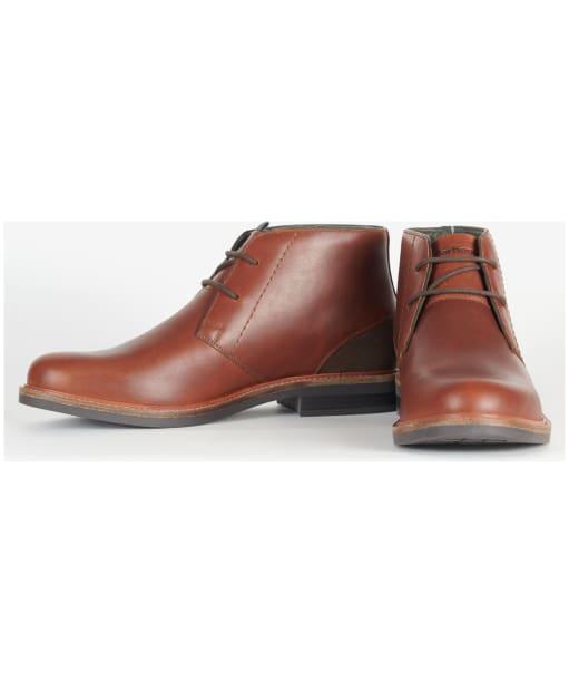 Men's Barbour Readhead Chukka Boots - Mahogany