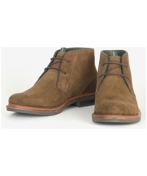 Men's Barbour Readhead Suede Chukka Boots - Olive