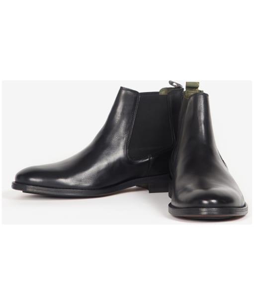Men's Barbour Bedlington Chelsea Boots - New Black