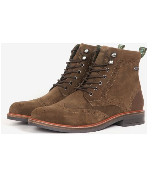 Men's Barbour Seaton Derby Boots - Olive