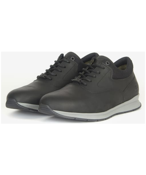 Men's Barbour Langley Oxford Shoes - Black