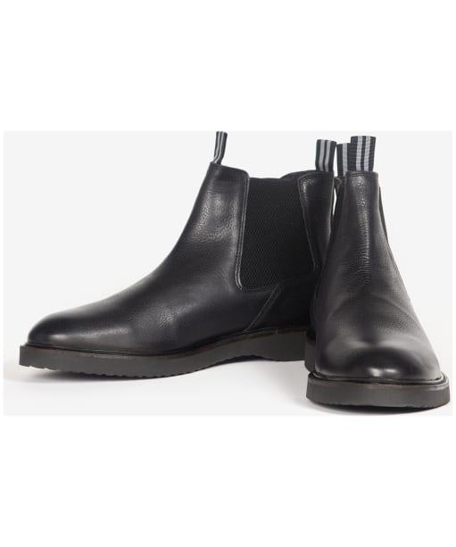 Men's Barbour International Crank Chelsea Boots - Black
