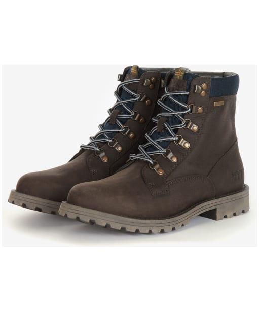 Men's Barbour Chiltern Derby Boots - Oak